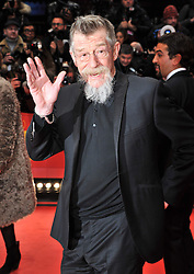 John Hurt attends the Opening Party of the 64th Berlinale International Film Festival, Berlin, Germany, Thursday, 6th February 2014. Picture by  Schneider-Press / i-Images<br /> UK & USA ONLY