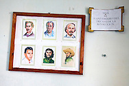 Cuban heroes in Gibara, Holguin, Cuba.