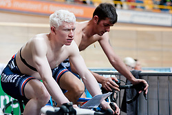 DEBEAUPUITS Damien, FRA, Tandem 4km Pursuit Qualifiers , 2015 UCI Para-Cycling Track World Championships, Apeldoorn, Netherlands