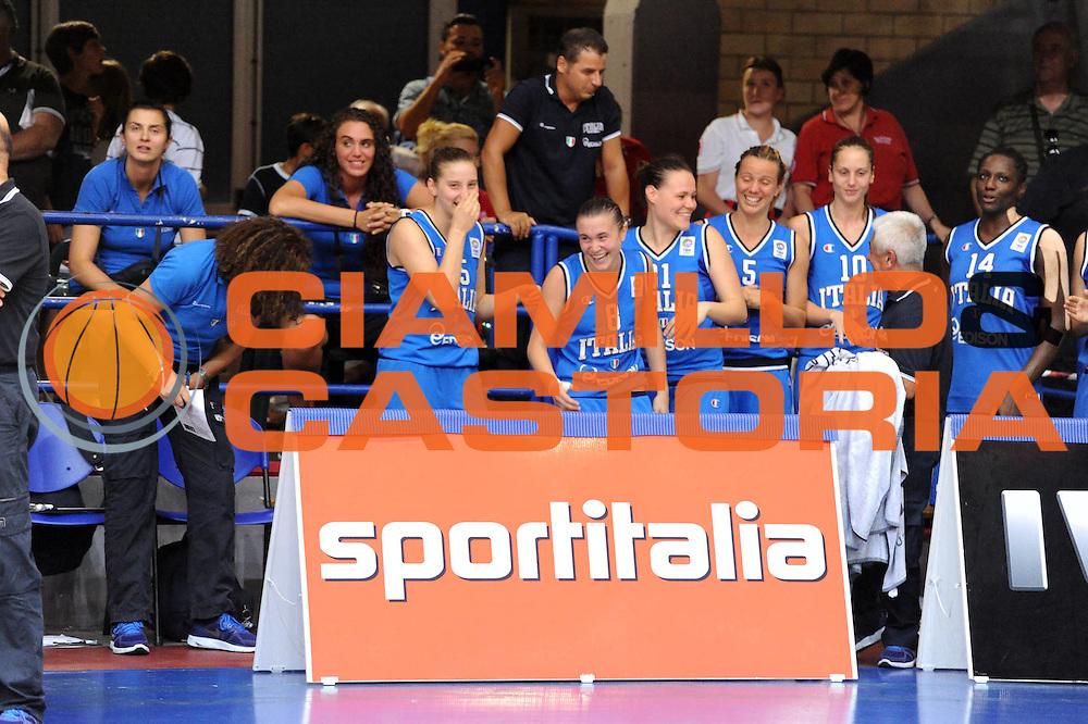 DESCRIZIONE : Latina Qualificazioni Europei Francia 2013 Italia Grecia<br /> GIOCATORE : Team Nazionale Italiana<br /> CATEGORIA : Esultanza<br /> SQUADRA : Nazionale Italia<br /> EVENTO : Latina Qualificazioni Europei Francia 2013<br /> GARA : Italia Grecia<br /> DATA : 11/07/2012<br /> SPORT : Pallacanestro <br /> AUTORE : Agenzia Ciamillo-Castoria/GiulioCiamillo<br /> Galleria : Fip 2012<br /> Fotonotizia : Latina Qualificazioni Europei Francia 2013 Italia Grecia<br /> Predefinita :