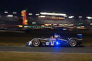 #52 PR1/Mathiasen Motorsports ORECA FLM09: Frankie Montecalvo, Gunnar Jeannette, David Cheng, Mike Guasch