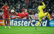 Fussball Uefa Champions League 2011/12: FC Bayern Muenchen - Villareal