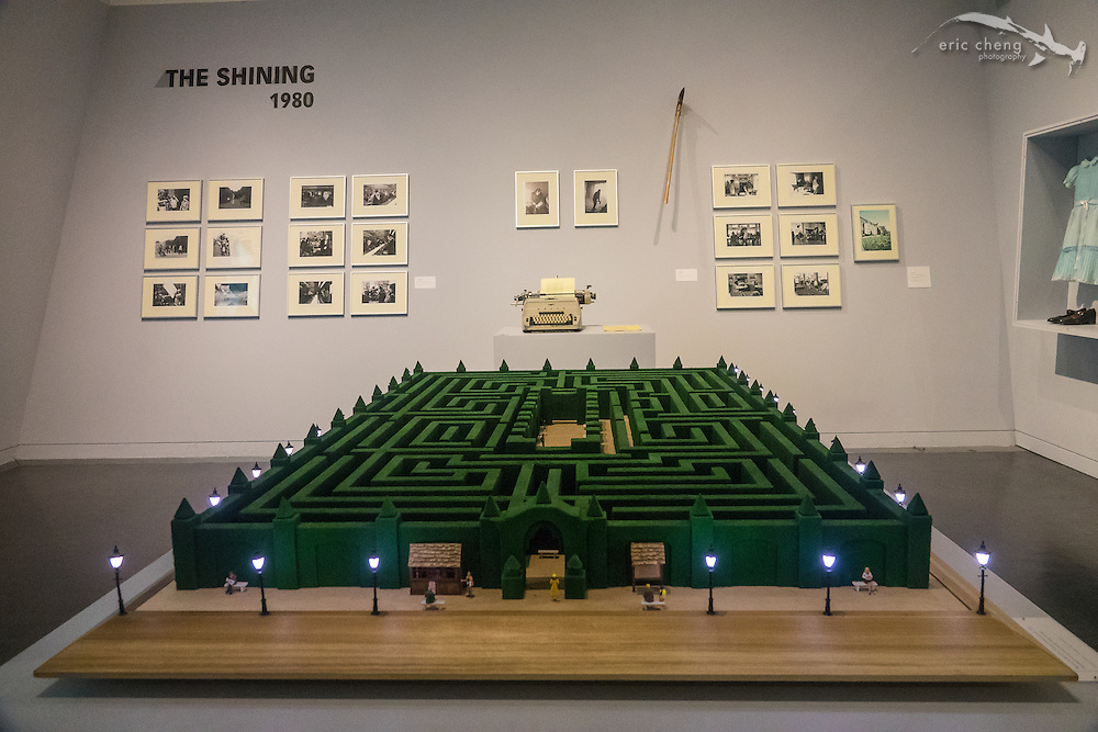 The Shining! Adam Savage made this maze model. Stanley Kubrick: The Exhibition, Contemporary Jewish Museum, San Francisco