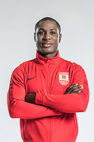 **EXCLUSIVE**Portrait of Nigerian soccer player Odion Ighalo of Changchun Yatai F.C. for the 2018 Chinese Football Association Super League, in Wuhan city, central China's Hubei province, 22 February 2018.