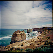 Picture taken with a Holga. The twelve apostles.
