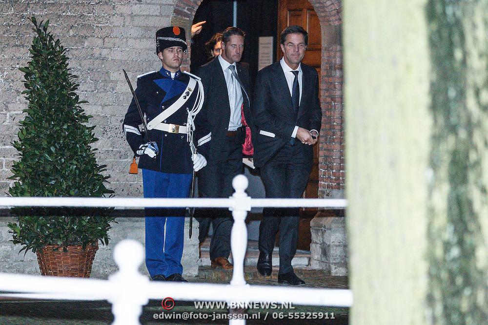 NLD/Delft/20131102 - Herdenkingsdienst voor de overleden prins Friso, premiere Mark Rutte