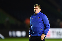 Director of Rugby Stuart Hooper looks on during the pre-match warm-up - Mandatory byline: Patrick Khachfe/JMP - 07966 386802 - 23/11/2019 - RUGBY UNION - The Twickenham Stoop - London, England - Harlequins v Bath Rugby - Heineken Champions Cup