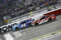 September 22, 2018 - Richmond, Virginia, United States of America - Timmy Hill (66) battles for position during the Federated Auto Parts 400 at Richmond Raceway in Richmond, Virginia. (Credit Image: © Chris Owens Asp Inc/ASP via ZUMA Wire)