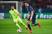 Javier PASTORE - 15.04.2015 - Paris Saint Germain / Barcelone - 1/4Finale Aller Champions League<br />Photo : Dave Winter / Icon Sport