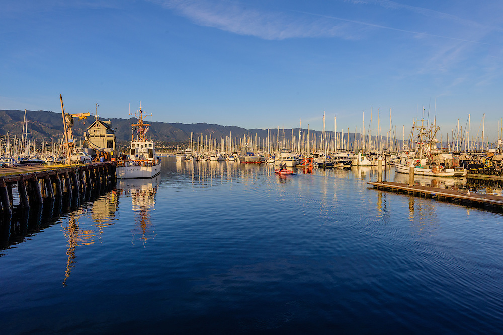 Santa Barbara Harbor, Marina, Santa Barbara, California