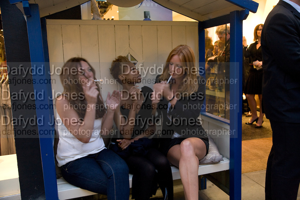 OLGA ENGLAND; TOLULA ADEYEMI; OLIVIA INGE;  , Neal's Yard Remedies Natural Beauty Honours and drinks party. King's Rd. London. 4 September 2008.  *** Local Caption *** -DO NOT ARCHIVE-© Copyright Photograph by Dafydd Jones. 248 Clapham Rd. London SW9 0PZ. Tel 0207 820 0771. www.dafjones.com.