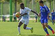10.09.2016; Zuerich; Fussball FC Zuerich Academy - FC Zuerich U16 - Vaud Lausanne. <br />Henri Koide (Zuerich) <br />(Andy Mueller/freshfocus)