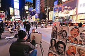 Times Square Portrait Artists