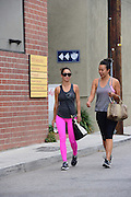 27.AUGUST.2013. LOS ANGELES<br /> <br /> CARA SANTANA LEAVING THE GYM IN L.A WEARING BRIGHT PINK LEGGINGS<br /> <br /> BYLINE: EDBIMAGEARCHIVE.CO.UK<br /> <br /> *THIS IMAGE IS STRICTLY FOR UK NEWSPAPERS AND MAGAZINES ONLY*<br /> *FOR WORLD WIDE SALES AND WEB USE PLEASE CONTACT EDBIMAGEARCHIVE - 0208 954 5968*
