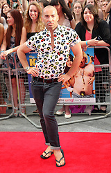 Louie Spence  arriving for the premiere of Keith Lemon The Film in London, Monday, 20th August 2012. Photo by: Stephen Lock / i-Images