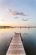 Harbor, Flanders, Flanders Bay, New York, pier