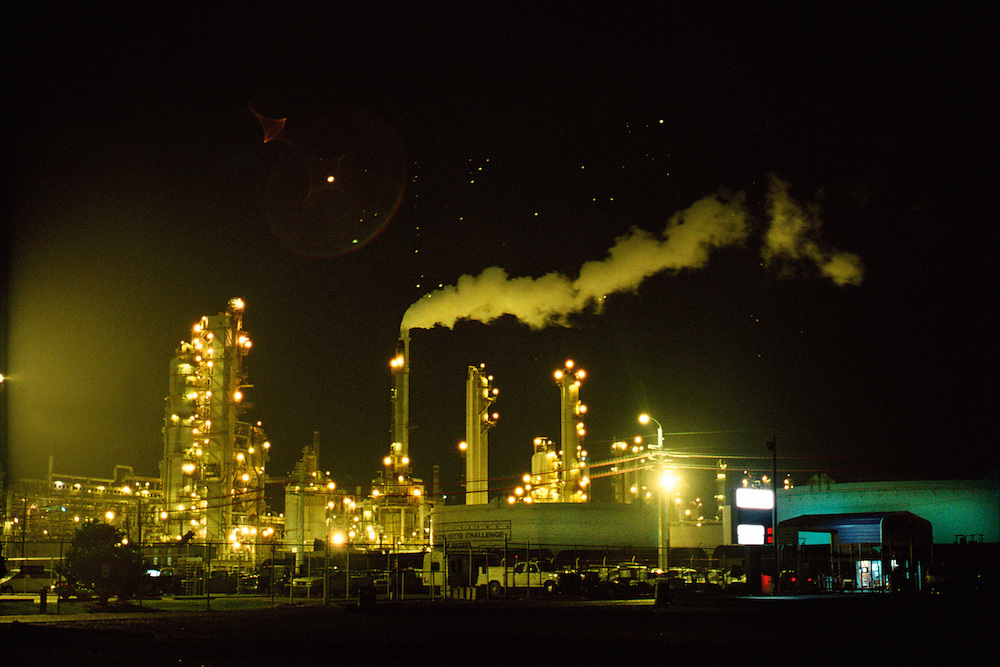 Petrochemical plant. New Orleans, Louisiana, USA.