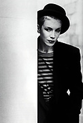Annie Lennox in Paris 1987 photography
