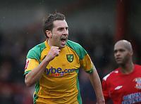 Photo: Rich Eaton.<br /> <br /> Tamworth FC v Norwich City. The FA Cup. 06/01/2007. Darren Huckerby celebrates scoring in the first half