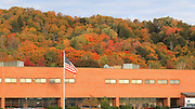 I cannot help but wonder if the Munising High School students that attend school, here, wouldn't be just a bit distracted with this incredible view out of their classroom windows.