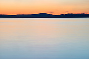 Pastel Sunset #2, San Juan Islands, Washington State
