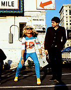 Blondie photographed on 21st May 1978 in Boston, MA. while on their first US tour.
