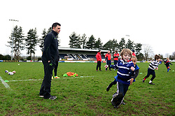 Jonny Arr and Worcester Warriors players and community coaches deliver coaching sessions at Stourbridge RFC  - Mandatory by-line: Dougie Allward/JMP - 19/03/2017 - Rugby - Stourbridge RFC - Stourbridge, England - Worcester Warriors Community Rugby