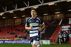 Bristol Rugby Inside Centre Gavin Henson - Mandatory byline: Dougie Allward/JMP - 27/11/2015 - RUGBY - Ashton Gate - Bristol, England - Bristol Rugby v London Scottish - Greene King IPA Championship