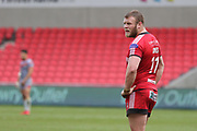 Josh Jones for Salford Reds during the Betfred Super League match between Salford Red Devils and Catalan Dragons at the AJ Bell Stadium, Eccles, United Kingdom on 30 March 2018. Picture by George Franks.