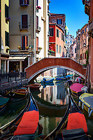 """Beautiful spring afternoon on the Rio del Frari - Venice""...<br />
