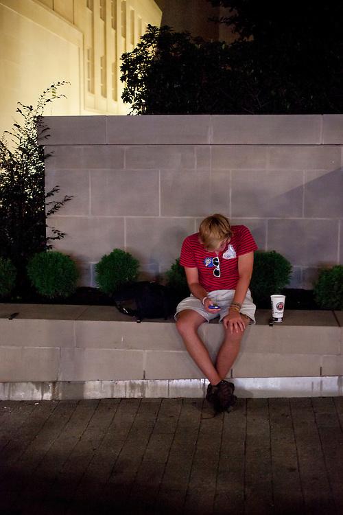 The scene on Fayetteville Street, Hopscotch Music Festival, Raleigh, N.C., Friday, September 7, 2012