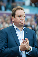 Hull City manager Leonid Slutsky during the Sky Bet Championship match at Villa Park, Birmingham<br /> Picture by Matt Wilkinson/Focus Images Ltd 07814 960751<br /> 05/08/2017