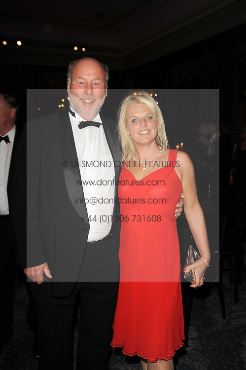 CHRIS WRIGHT and his wife JANCE at the 20th annual Cartier Racing Awards - the most prestigious award ceremony within European horseracing, held at The Dorchester Hotel, Park Lane, London on 16th November 2010.