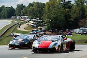 October 1-3, 2014 : Lamborghini Super Trofeo at Road Atlanta. #14 Pierre Kleinubing, O'Gara Motorsport, Lamborghini of Beverly Hills