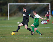 - Docs Hibernia (green) v Hilltown Hotspur (black) in the Dundee Saturday Morning Morning Football at Riverside, Dundee. Photo: David Young<br /> <br />  - © David Young - www.davidyoungphoto.co.uk - email: davidyoungphoto@gmail.com