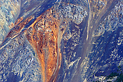 Detail of St. Elias Mountains<br /> <br /> Kluane National Park<br /> Yukon<br /> Canada