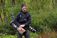 Wildlife photographer Jed Weingarten, Tangjiahe National Nature Reserve, NNR, Qingchuan County, Sichuan province, China