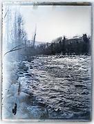 wild running river France ca 1920s