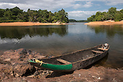 Dugout Canoe<br /> Fairview<br /> Iwokrama Reserve<br /> GUYANA<br /> South America
