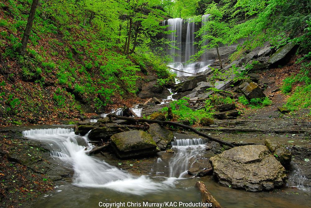 Tinkers Falls, New York, USA