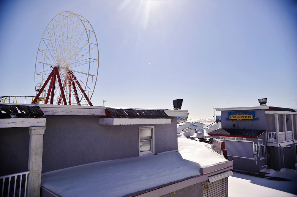 (staff photo by Matt Roth)..Ocean City in the off season Sunday, January 31, 2010. I'll write a brief story.in first person and take photos showcasing the emptiness and stillness of what this resort town built for summer fun looks like in the winter. Rather than tell people things to do, Jess and I are going to somewhat wing it, and I'l document whatever happens. It should be a fun break from the average travel peice. I've been.happens. It should be a fun break from the average.travel peice.