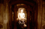 Shrine of Buddha, in cave at Sokkuram, near Kyongju, South Korea. Photograph. UNESCO photograph.