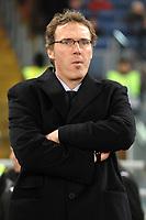 Fotball<br /> Italia<br /> Foto: Inside/Digitalsport<br /> NORWAY ONLY<br /> <br /> Bordeaux Coach Laurent Blanc <br /> <br /> 09.12.2008<br /> Champions League 2008/2009 <br /> Roma v Bordeaux (2-0)