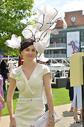 EVA LANSKA at the 1st day of the Royal Ascot Racing Festival 2015 at Ascot Racecourse, Ascot, Berkshire on 16th June 2015.
