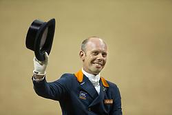 Minderhoud Hans Peter, (NED), Glock's Flirt <br /> Kur<br /> Reem Acra FEI World Cup™ Dressage Final<br /> Las Vegas 2015<br />  © Hippo Foto - Dirk Caremans<br /> 18/04/15