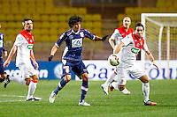 Yeltsin Ignacio Tejeda Valverde / Joao Moutinho  - 21.01.2015 - Monaco / Evian Thonon   - Coupe de France 2014/2015<br /> Photo : Sebastien Nogier / Icon Sport
