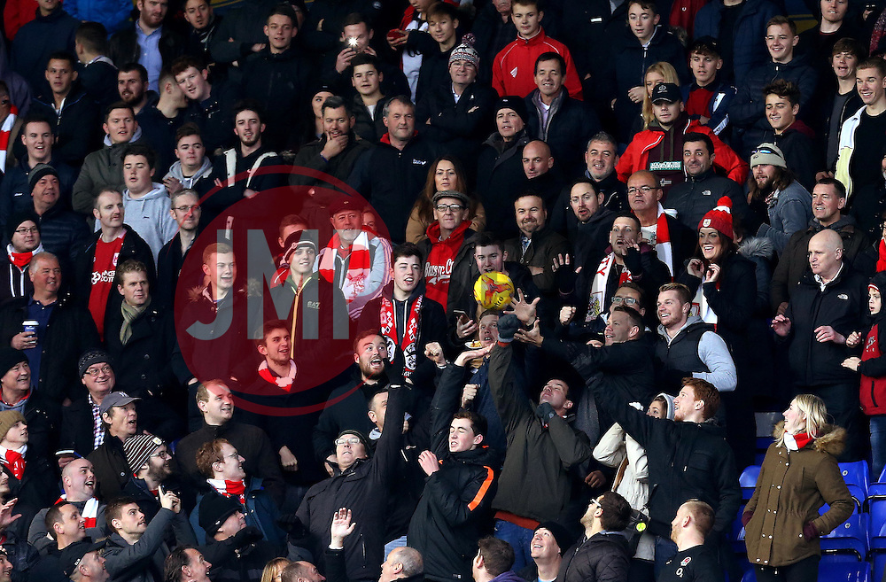 Bristol City fans at Birmingham City - Mandatory by-line: Robbie Stephenson/JMP - 19/11/2016 - FOOTBALL - St Andrew's Stadium - Birmingham, England - Birmingham City v Bristol City - Sky Bet Championship