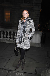 OLIVIA INGE at the opening of the Somerset House ice Rink for 2008 sponsored by Tiffany & Co held at Somerset House, The Strand, London on 18th November 2008.