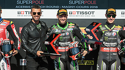 September 29, 2018 - 66, Tom Sykes, GBR, Kawasaki ZX-10RR, Kawasaki Racing Team WorldSBK, SBK 2018, MOTO - SBK Magny-Cours Grand Prix 2018, SuperPole, 2018, Circuit de Nevers Magny-Cours, Acerbis French Round, France ,September 29 2018, action during the SBK SuperPole of the Acerbis French Round on September 29 2018 at Circuit de Nevers Magny-Cours, France (Credit Image: © AFP7 via ZUMA Wire)