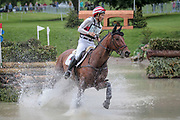 CALLE 44 ridden by Yoshiaki Oiwa taking part in the Equitrek CCI*** cross country on day three of the Bramham International Horse Trials 2017 at Bramham Park, Bramham, United Kingdom on 11 June 2017. Photo by Mark P Doherty.